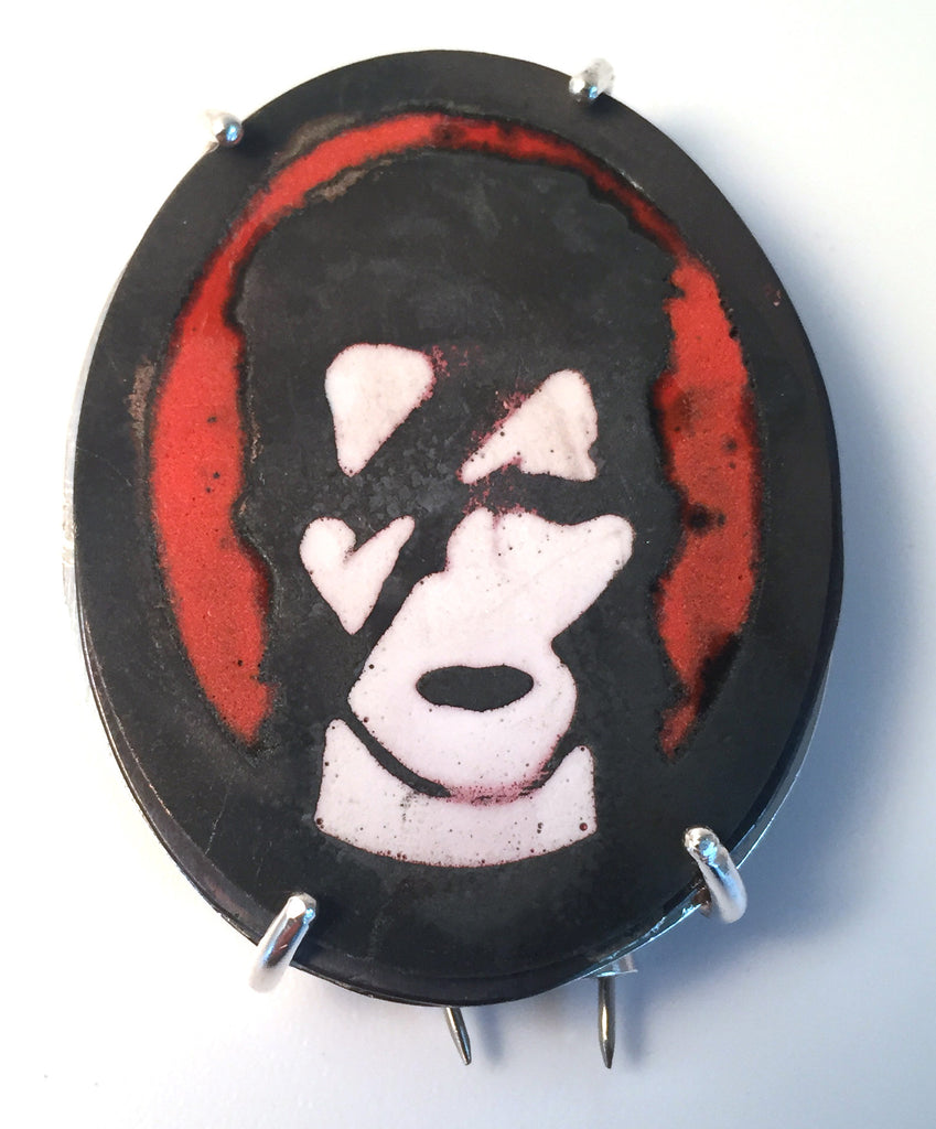 David Bowie Brooch