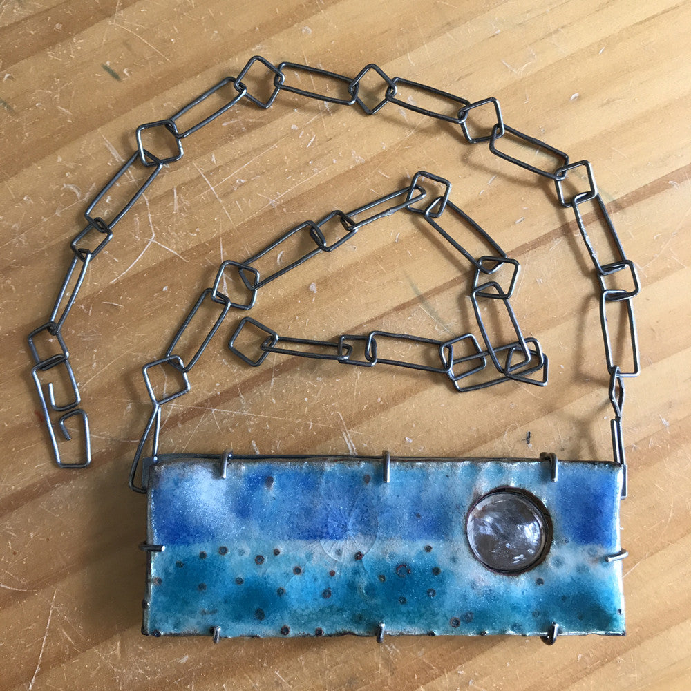 Seascape Necklace/Brooch