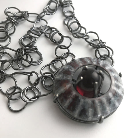 Barnacle Steampunk Necklace
