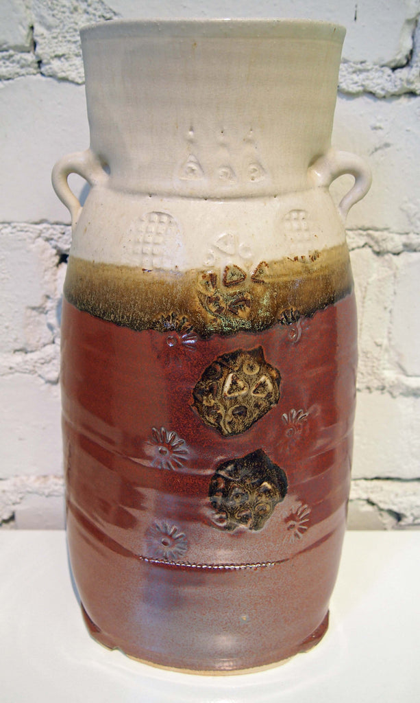Red/Cream Vessel