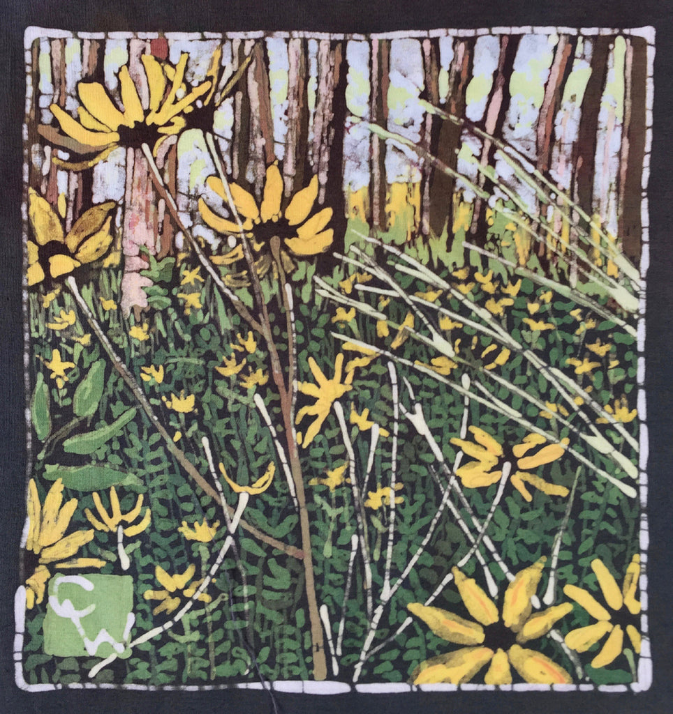 Coreopsis in the Forest