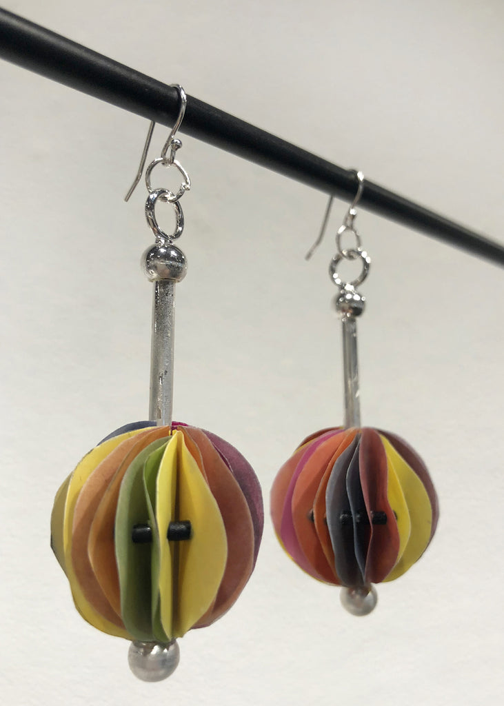 Rainbow Ball Earrings