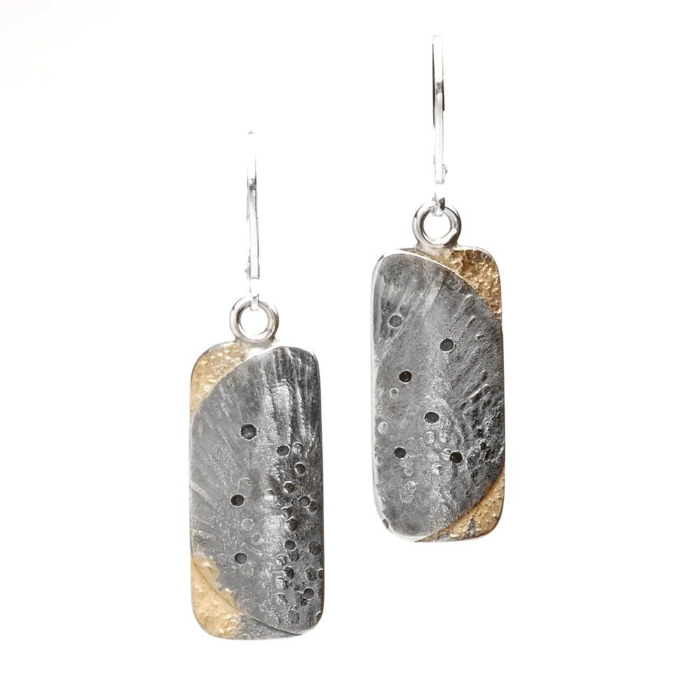 Fused Moonscape Earrings #1