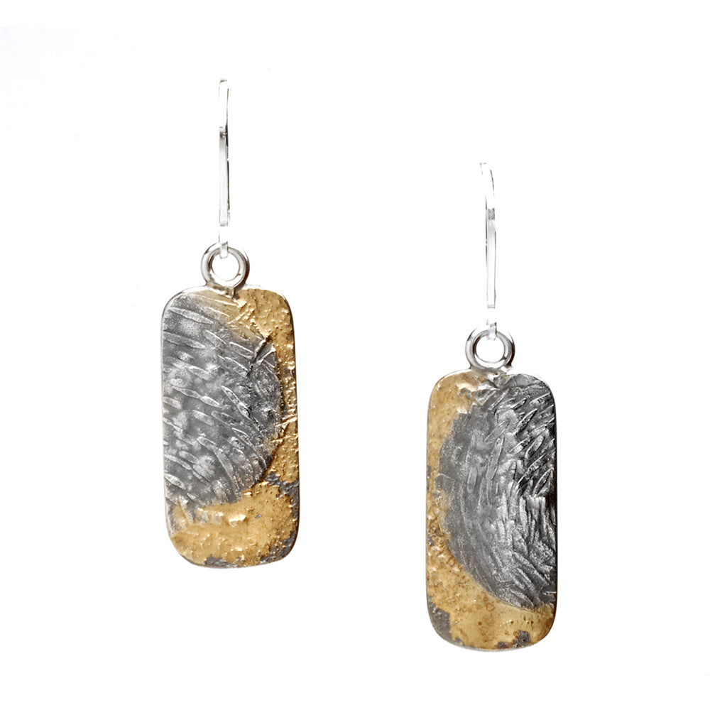 Fused Moonscape Earrings #2