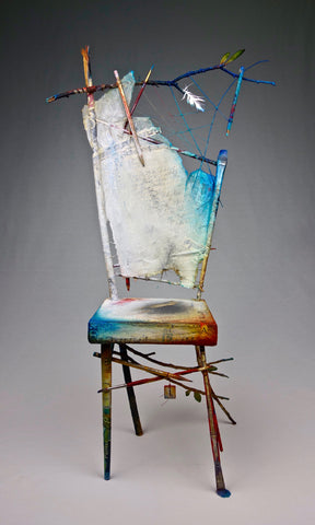 Artist/Poet Portrait Chair...A Dialogue