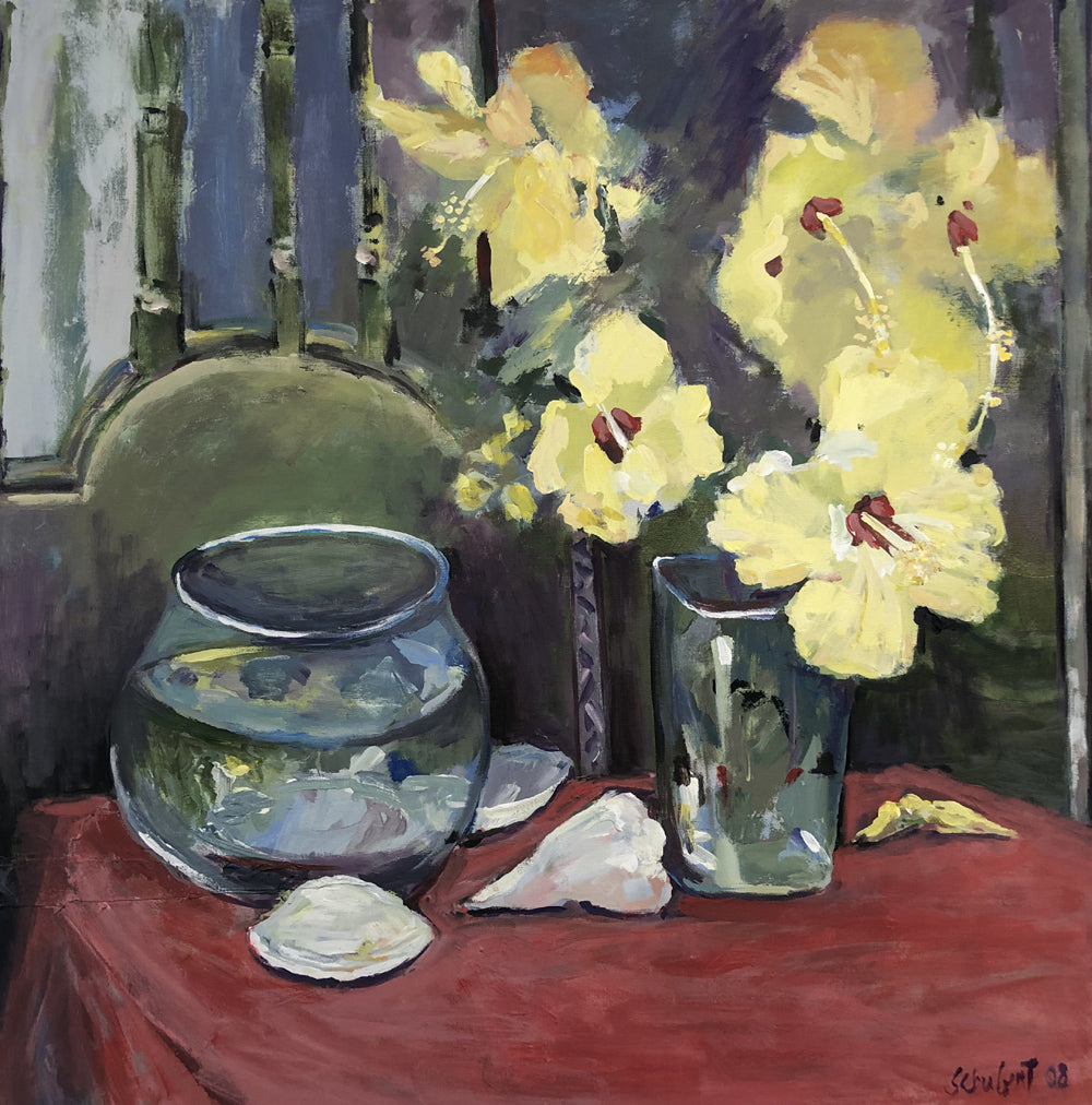 Still Life with Hibiscus