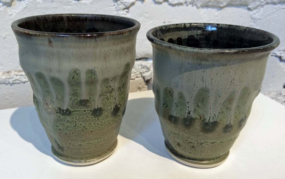 Bronze Water Glasses
