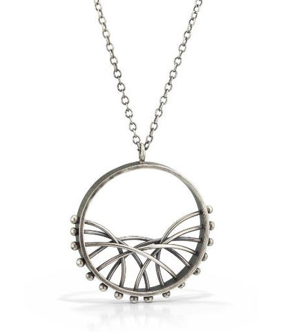 Circle Arc Necklace