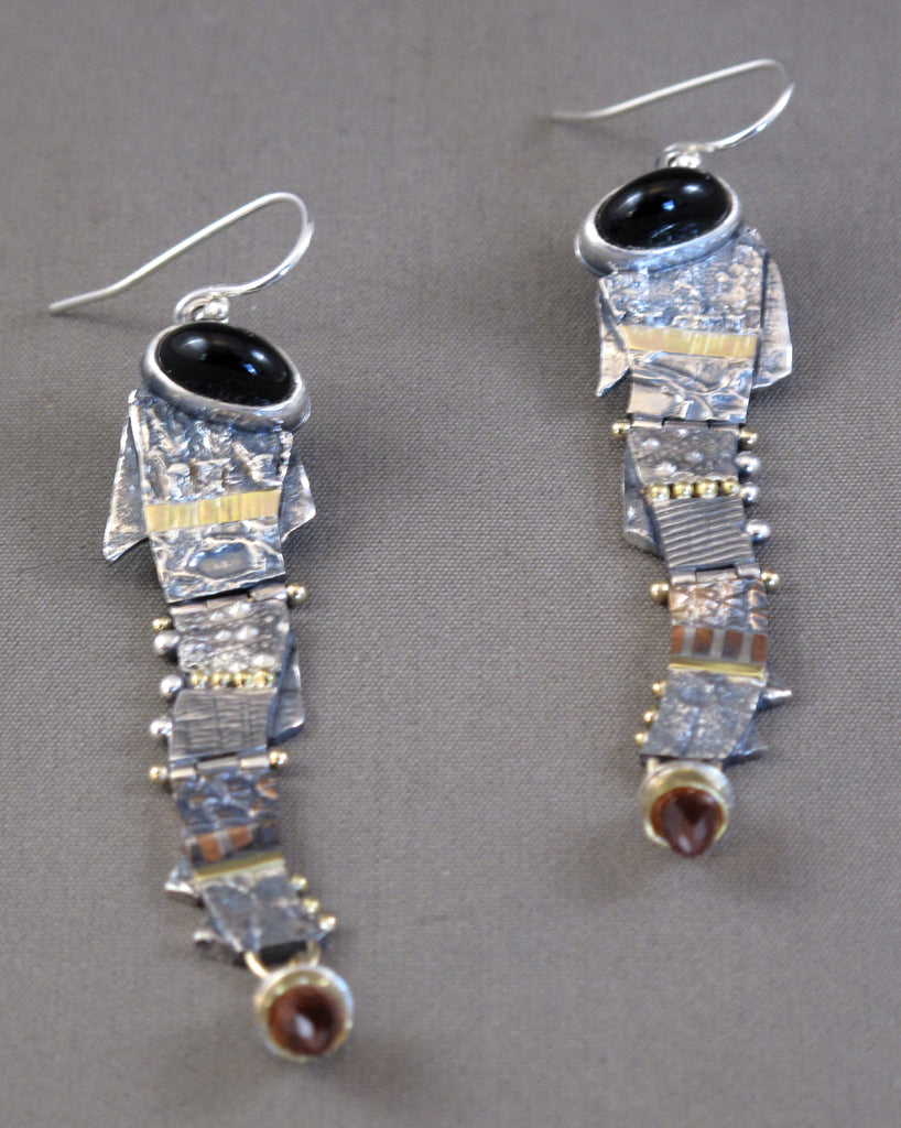Onyx Dancer Earrings