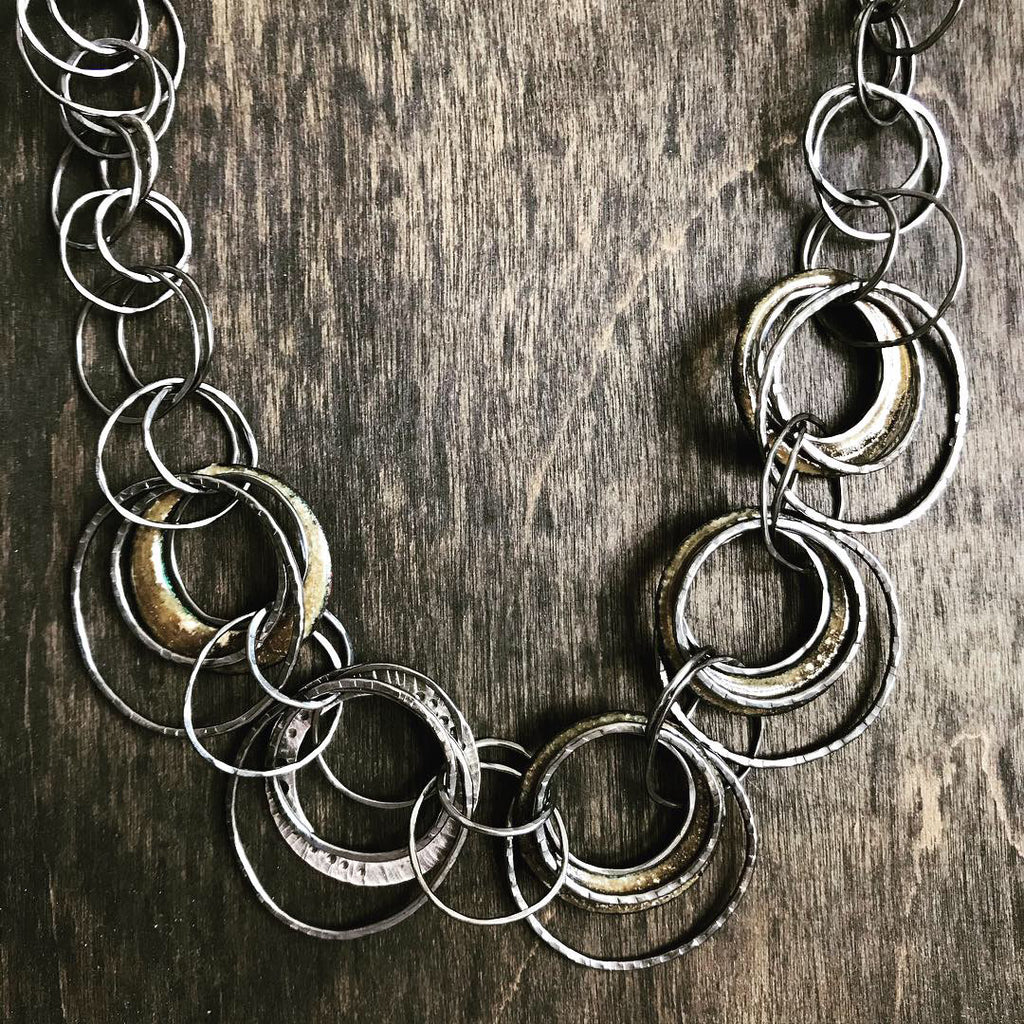 Earthly Circles Necklace
