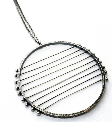 9 Line Horizon Necklace