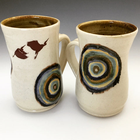 Birds on Mugs