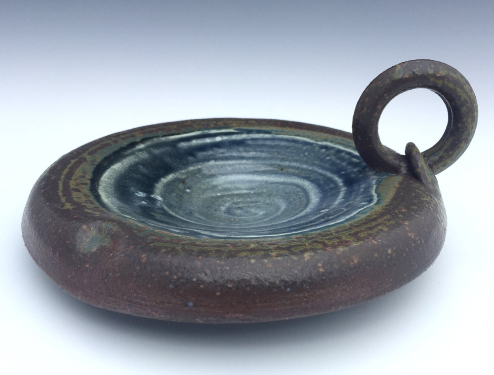 Copy of Ash Dessert Bowl (Blue)