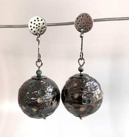 Hollow Globe Earrings