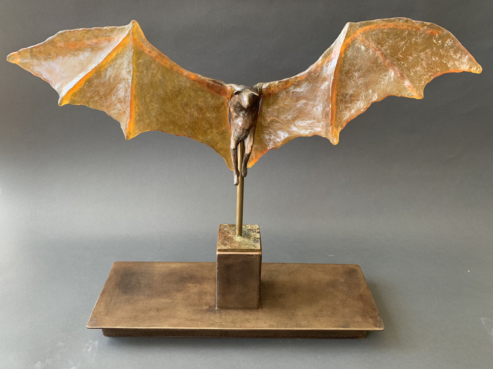Bat with Glass Wings
