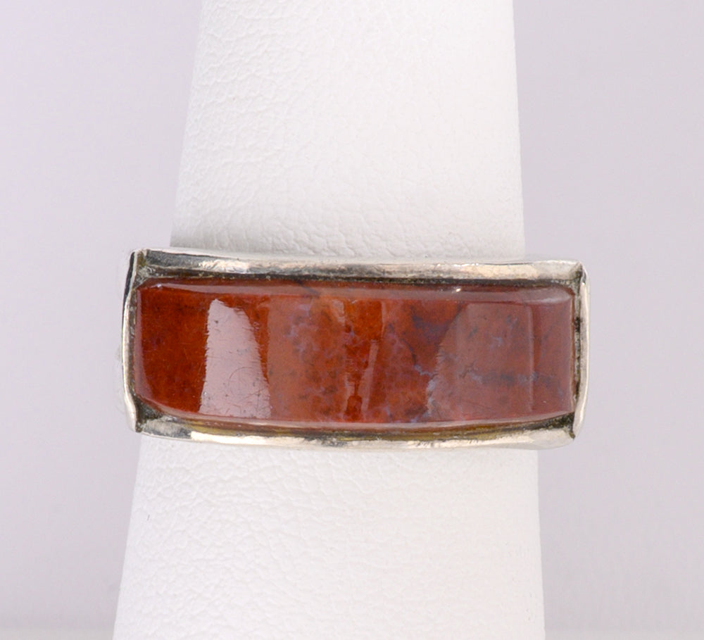 Red Agate Ring