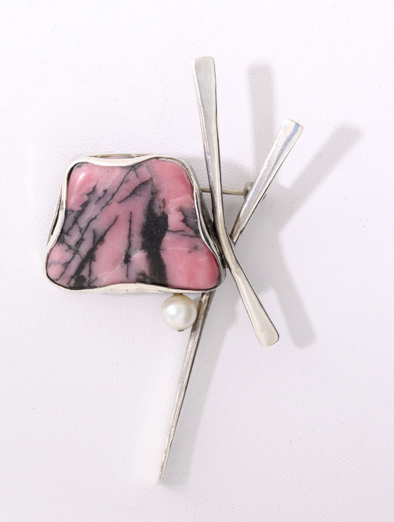 Rhodonite Pin