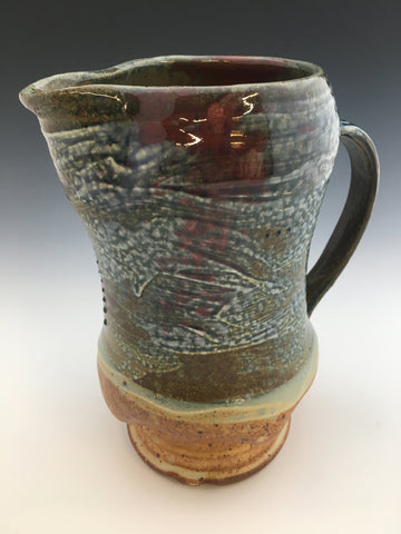 Blue Ash Pitcher