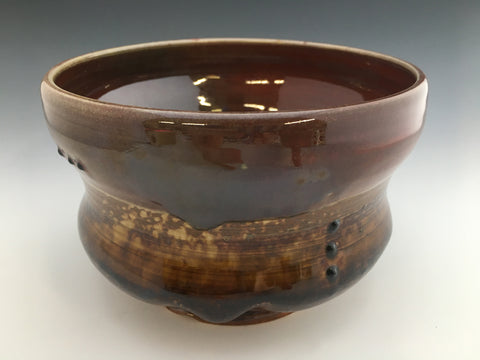 Small Brown Ash Bowl