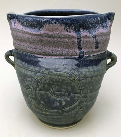 Purple Top Vessel