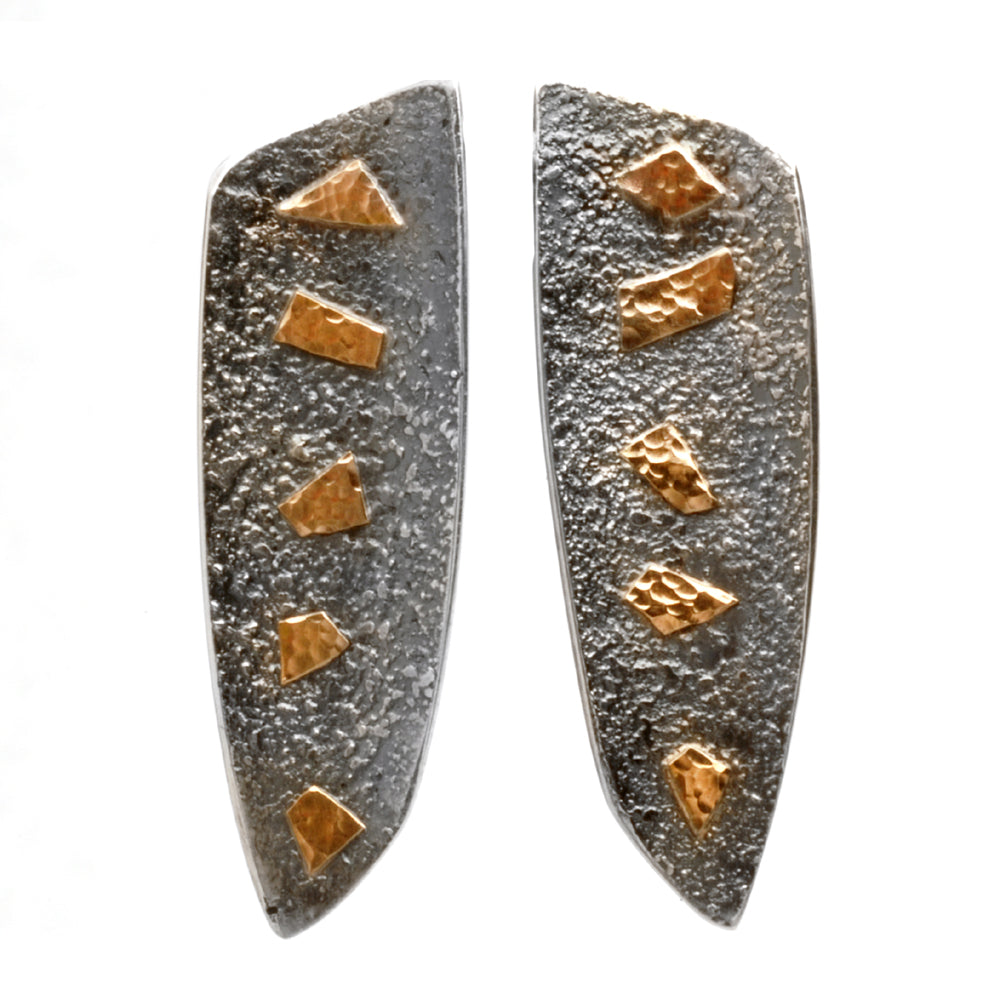 Shield Post Earrings