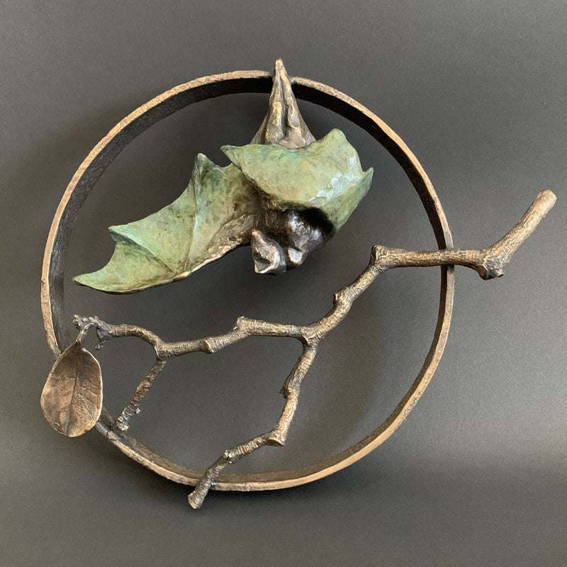 Bat and Branch in Circle