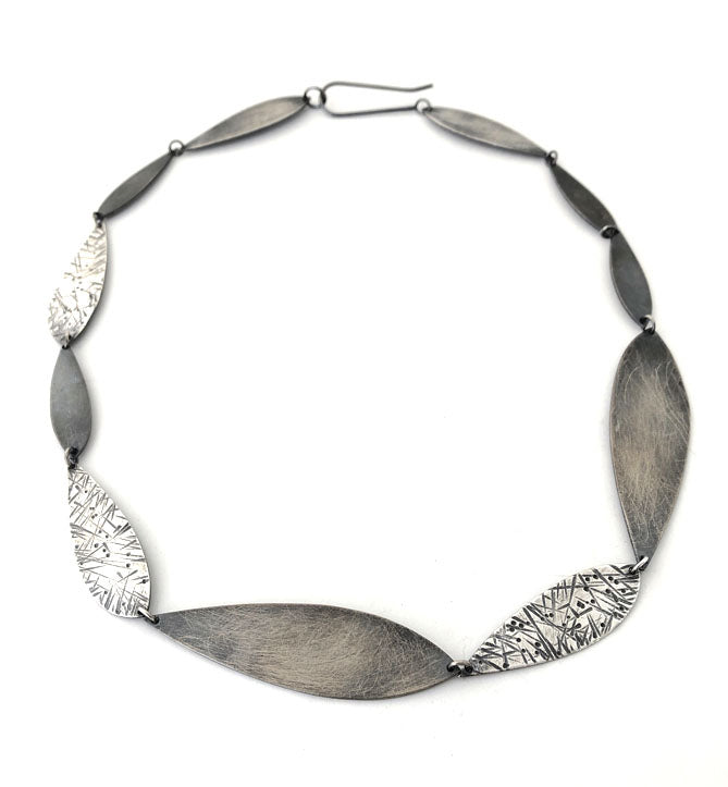 Feather Circle Necklace