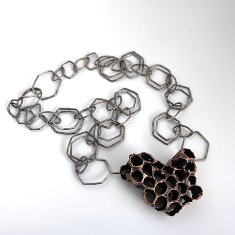 Wasp Nest Necklace