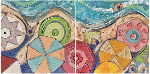 High Tide (diptych)