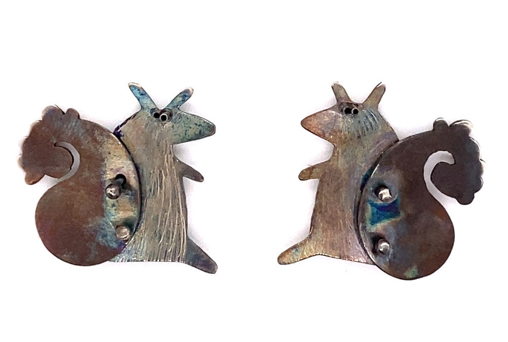 Woodland Squirrel Earrings