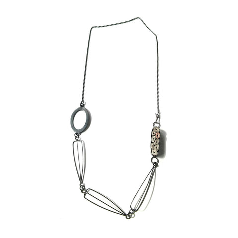 Echo Oval Necklace