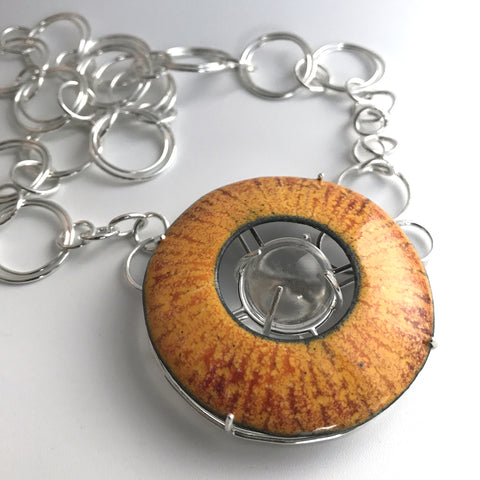 Sun Steampunk Necklace