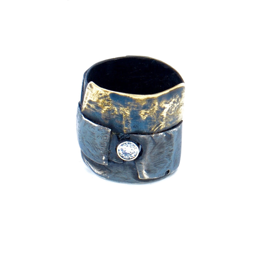 Layered Brass Ring