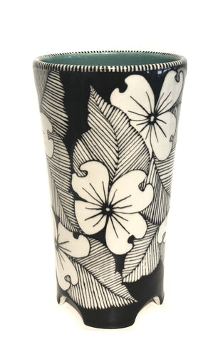 Arch-footed Vase (Dogwood)