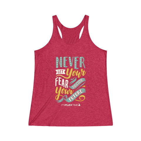 No Fear Raw Racerback Tank