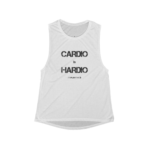 Cardio is Hardio Women's Muscle Tank