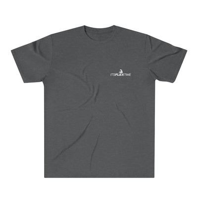 "Signature ""It'sFlexTime"" Shirt (White Logo)"