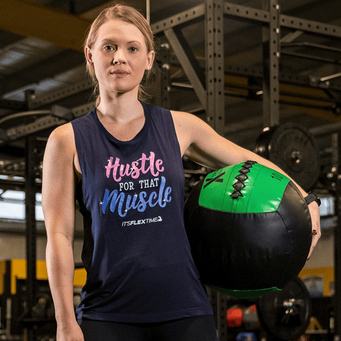 Hustle for that Muscle Muscle Tank