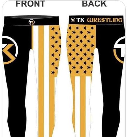 TK Full Sublimation Compression Tights