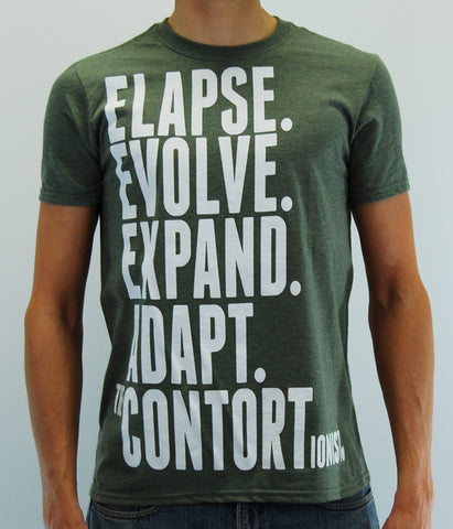 The Contortionist Elapse Shirt (Heather Green)