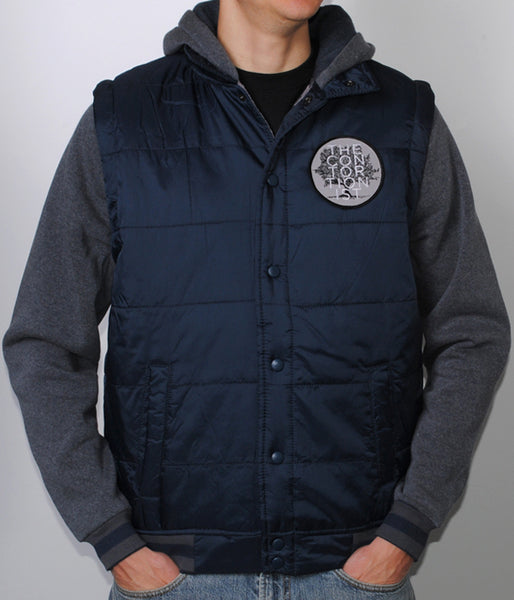 The Contortionist TC Hooded Fleece Jacket (Navy)