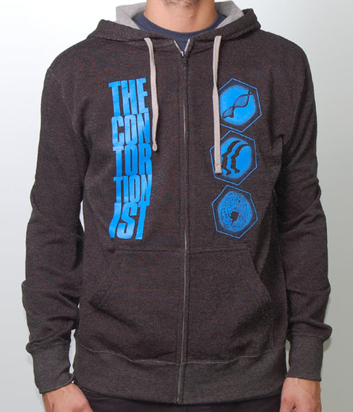 The Contortionist Geocentric Zip Hooded Sweatshirt