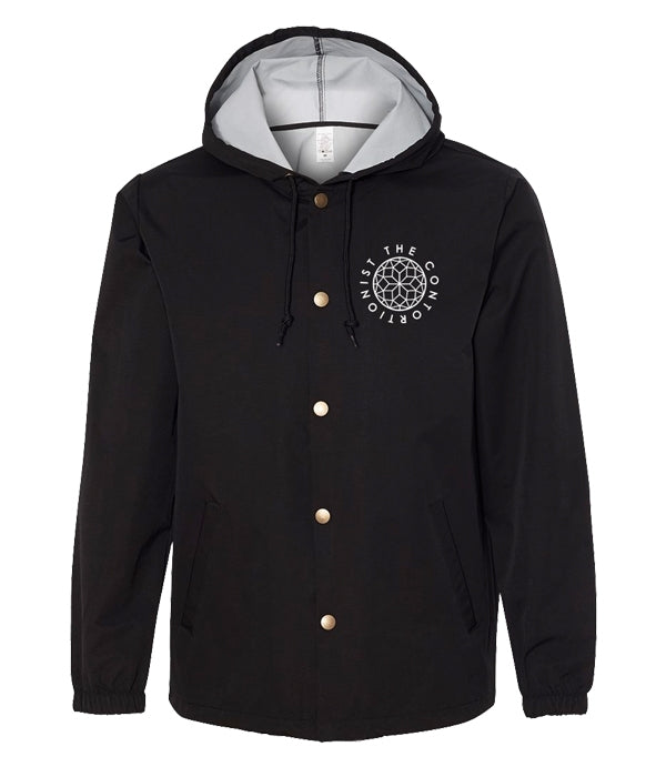The Contortionist Mother Sun Hooded Coaches Jacket