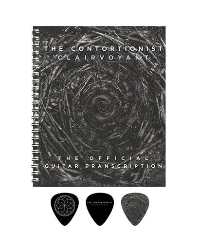 The Contortionist - Clairvoyant Official Guitar Transcription Book Bundle