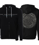The Contortionist Clairvoyant Album Cover Zip Hooded Sweatshirt