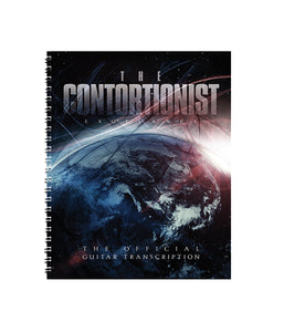 The Contortionist Exoplanet Official Guitar Transcription Book