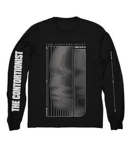 The Contortionist Bend Long Sleeve Shirt (Black)