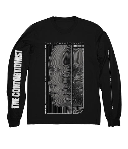 The Contortionist Bend Long Sleeve Shirt (Black) **Preorder - Ships 12/09