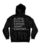 The Contortionist Elapse 2018 Pullover Hooded Sweatshirt