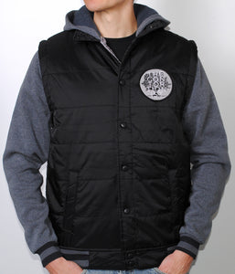 The Contortionist TC Hooded Fleece Jacket (Black)